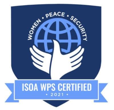 Corpguard Women Peace and Security certification 2021